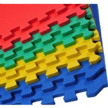 60 x 60 CM MULTICOLOUR INTERLOCKING EVA SOFT FOAM EXERCISE FLOOR MATS GYM GARAGE OFFICE KIDS PLAY [ MIX ]